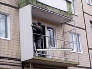 Балконы,  лоджии,  расширение,  утепление,  металлопластиковое остекление,