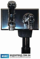 Встроенный сифон для стиральной машины HL406 (Hutterer & Lechner)