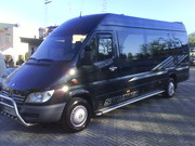 Заказ микроавтобуса на свадьбу.Пассажирские перевозки по Украине