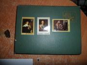 Продам  коллекцию марок вместе с альбомом.
