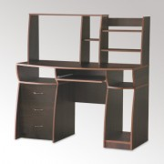 Стол компьютерный с надстройкой Комфорт-3 (Компанит)