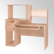 Стол компьютерный с надстройкой Комфорт-4 (Компанит)