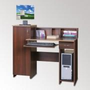 Стол компьютерный с надстройкой. Пи-Пи-2 (Компанит)