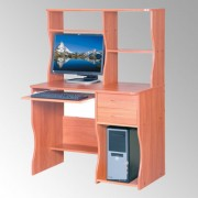 Стол компьютерный с надстройкой.СКМ-8 (Компанит)