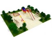 Детские площадки для детского сада.