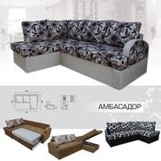 Мягкий раскладной Угловой диван Амбассадор вика
