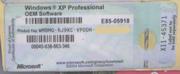 Windows XP наклейки OEM