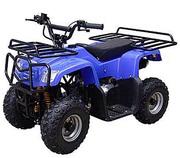Супер! Детский Квадроцикл HL-A420: HUMMER 40км/ч,  Бензин 110сс,  Синий