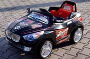 В Продаже! Детский электромобиль BMW X7 + Д/У Черная