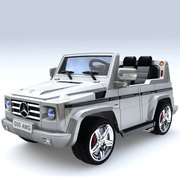 Детский электромобиль Mercedes AMG G55 SILVER