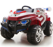 Новинка 2013! Детский электромобиль Rage Rover 1428 Красный