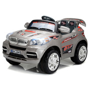 Хит продаж! Детский электромобиль BMW X8 + Д/У СЕРЕБРО