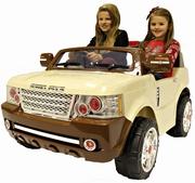 В Продаже! Детский электромобиль Land Power 205 слоновая кость
