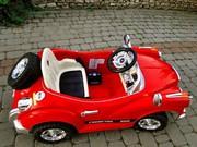 Cупер ! Детский электромобиль Mercedes Benz 128 Retro. Красный