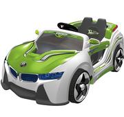 Спешите!  Детский электромобиль BMW i8 Vision Зелёный