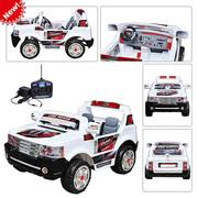 Внимание! Детский электромобиль Land Power 205: 2 места,  9 км/ч БЕЛЫЙ