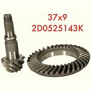 Главная пара (гипоидная передача) редуктора 37х9 - 2D0525143K