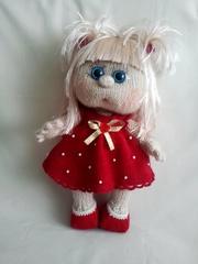 куклы вязанные