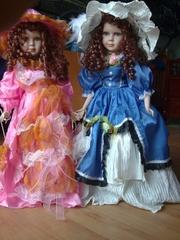 Лучший Подарок для Девочки! Фaрфоровая кукла