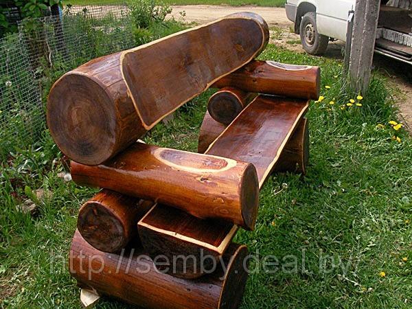 Как сделать скамейку из дерева своими руками
