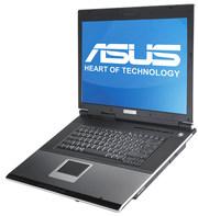 ноутбук ASUS A7U рабочий, с кейсом