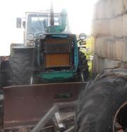 Продаем колесный трактор Т-150-05 с не поворотной лопатой, 1989 г.в.