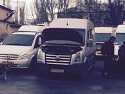 обслуживание и сервис микроавтобусов