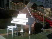 аренда белый рояль