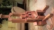 Конструктор деревянный,  кубики деревянные,  деревянные игрушки,  детский