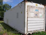 Изотермический термоизолированный контейнер 40 футов б/у рефконтейнер
