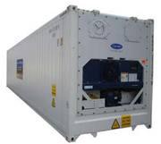 Рефрижераторный контейнер с обогревом 40 футов б/у рефконтейнер