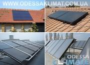 Солнечные коллекторы Одесса установка солнечных коллекторов в Одессе