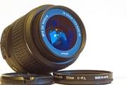 Кит-объектив с УЗ-мотором «Nikon 18-55mm 1:3.5-5.6G VR AF-S DX»