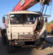 Продаем автокран КТА-18.01 Силач,  2007 г.в.,  КАМАЗ 53213,  1999 г.в.
