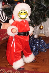 карнавальный костюм Санта 6-12 мес.
