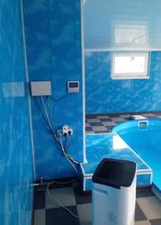 Продается дом в с. Н-Дофиновка с сауной и бассейном.