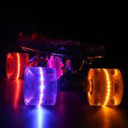 Скейтборд/скейт Пенни (Penny Board) со светящимися колесами: 5 цветов