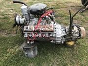 Двигатель Газ 53 первой комплектности с коробкой