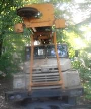 Продаем бурильно-крановую установку БКМ-1501,  КрАЗ 250,  1988 г.в.