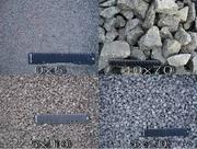 отсев щебня с доставкой ,  песок крупный чистый без глины, сеяный