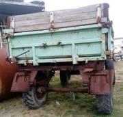Продаем колесный прицеп-самосвал 2ПТС-5 с лафетом,  1985 г.в.
