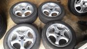диски легкосплавные dorbet 4x100 r16 c летними шинами