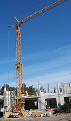 Продаем башенный кран LIEBHERR 35K,  4 тонны,  1993 г.в.