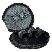 Накладки спортивные на ладони для тяги серые (предотвращают натирание