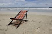 Шезлонг пляжный