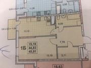 1 комнатная квартира ул. Жаботинского,  дом сдан