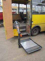 Площадка в автобус для перевозки инвалидов