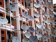 Установка спутникового ТВ в Киевском районe г. Одессы.