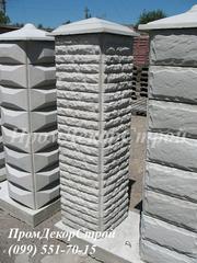 Блоки колонные для забора купить в Одессе