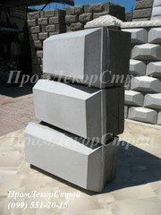 Строительные блоки декоративные с фаской в Одессе